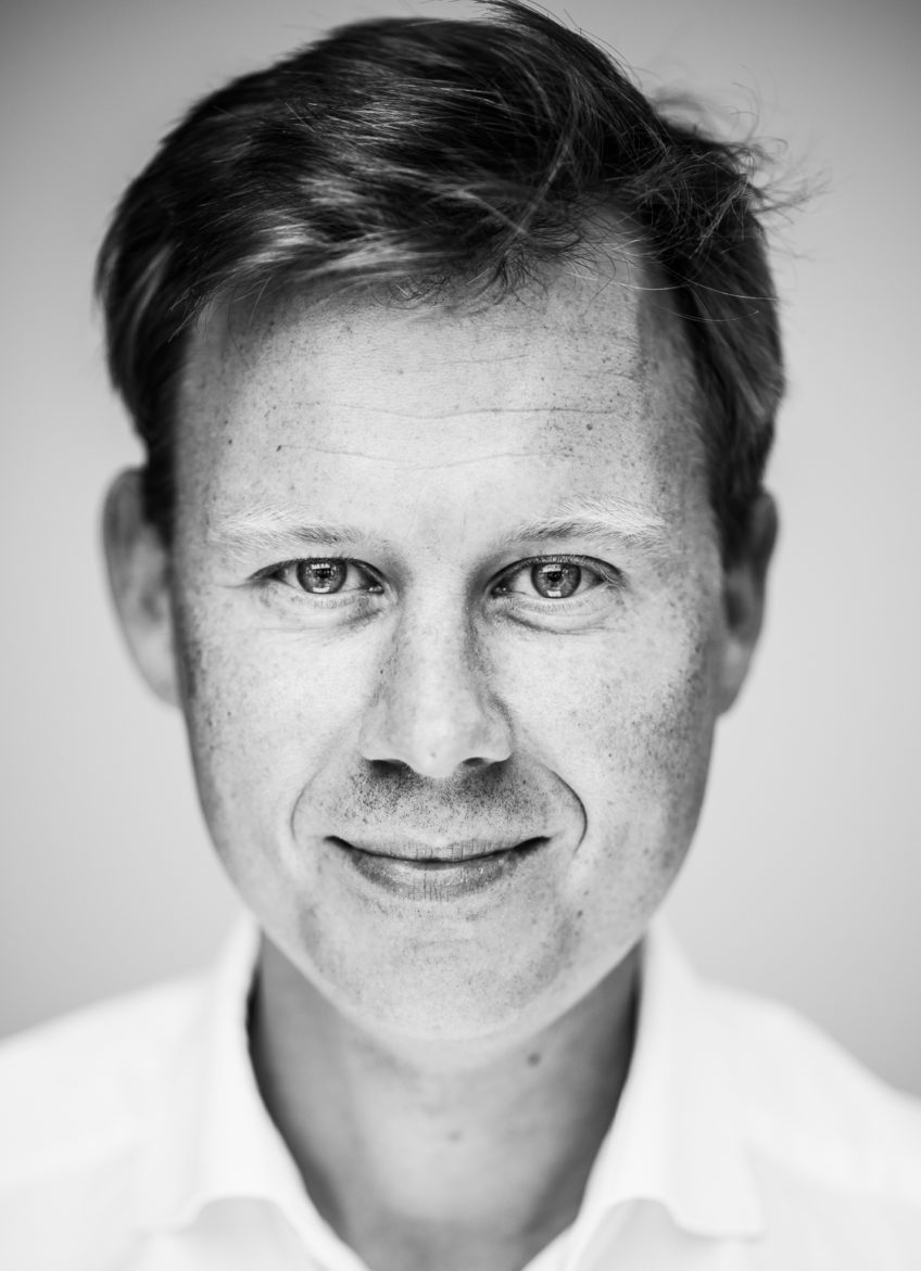 Headshot of Olivier Van Raemdonck